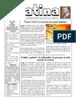 Datina -  09.08.2019 - prima pagină