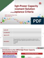 05-UMTS High-Power Capacity Improvement Acceptance Criteria (1)