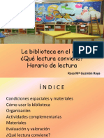 03.- La Biblioteca en El Aula. Rosita