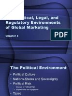 The Political, Legal, and Regulatory Environments - Chapter 5.ppt