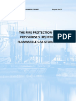 Fire Protection of Pressurised Liquified Flammable Gas Storage