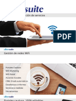 Cibersuite gestión de la red WiFi