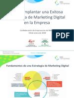 Cómo Implantar una Exitosa Estrategia de Marketing Digital en la Empresa