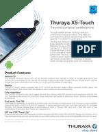 Thuraya X5-Touch Factsheet