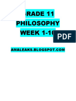 [AMALEAKS.BLOGSPOT.COM] Philosophy Week 1-10.doc
