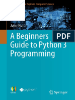 [Hunt, J.] a Beginners Guide to Python 3 Programming