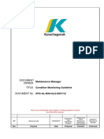 Condition Monitoring Guideline