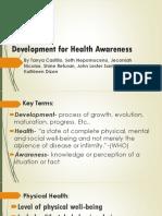 GROUP 2 Development for Mental Health Awareness
