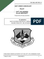 KA-50 Checklist