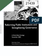 Improving Governance