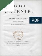 Claire Démar - Ma loi d'avenir