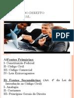 1- Fontes Do Direito Empresarial