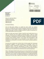 Carta de Maragall a Colau sobre l'Open Arms