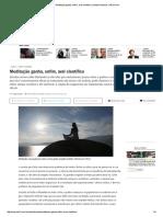 Meditação Ganha, Enfim, Aval Científico _ Saúde _ Notícias _ VEJA