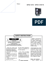 Barco TS Manual