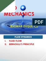 Fluid Flow & Bernoulli