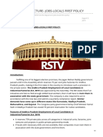 Insightsonindia.com-rstv the Big Picture- Jobs-locals First Policy