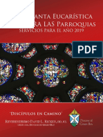 Spanish Eucharistic Holy Hour Guide for Parishes 2019