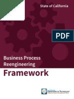 California Business Process Reengineering Framework