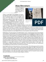 Ancient Egyptian Literature - Wikipedia