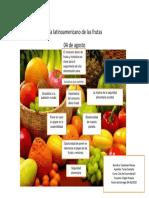 Dia Latinoamericano de Las Frutas