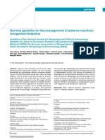 German Guideline for the Management of Adverse Reactions to Ingested Histamine