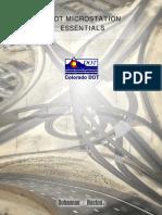 CDOT  MicroStation Essentials 3_02.pdf