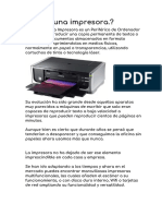 - Impresoras