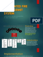 Integrated fire management system