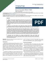 Formulation and Evaluation of Licozinat Matrix Tablet 2329 6631 1000190