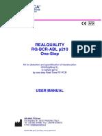 RQ-BCR-ABL p210 One-Step Manual e20170119