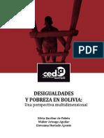 Desigualdades y Pobreza en Bolivia Una Perspectiva Multidimensional