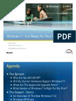 ASI Windows 7 Seminar