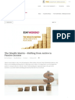 The Wealth Matrix - Shifting From Active to Passive Income 5 Day Weekend