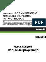 Manual Kawa Versys650