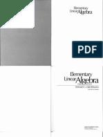 Stanley I. Grossman - Elementary Linear Algebra-Wadsworth (1987)