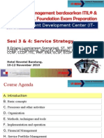 ITIL - Session 03-04 - Service Strategy
