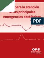 Guia Para La Atencion de Las Principales Emergencias Obstetricas 2da Edicion