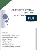 Preface to Lyrical Ballads-WW Pmc