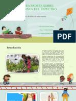 Cartilla Para Padres Sobre Los Trastornos Del Espectro (1)