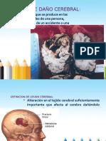 Presentacion de Lesion Cerebral y Daño Cerebral