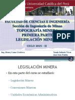 Clase de Legislacion Minera - Concesiones