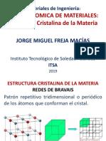 Estructura cristalina de la materia