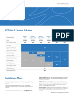 EZTitles Ver. 5 Price Sheet