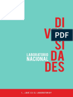Folletos del laboratorio nacional de diversidades