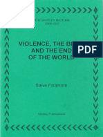 Finamore Whitley Lectures Violence the Bible and the End of the World