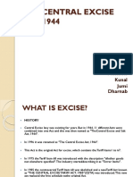 THE CENTRAL EXCISE ACT, 1944 FINAL.pptx