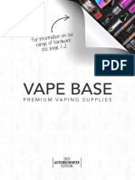 Vapebase Eliquid Wholesale Catalogue