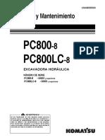 Manual de Operación y Mantenimiento PC800-8.pdf