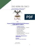 Proyecto de Responsabilidad Social Metodología